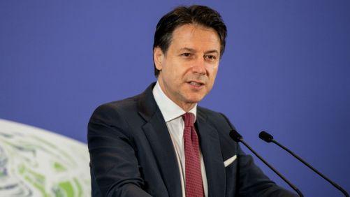 Italian Prime Minister Giuseppe Conte, Source- Yahoo News