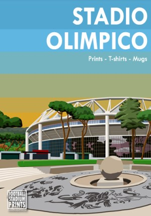 Stadio Olimpico Source- @StadiumPrint