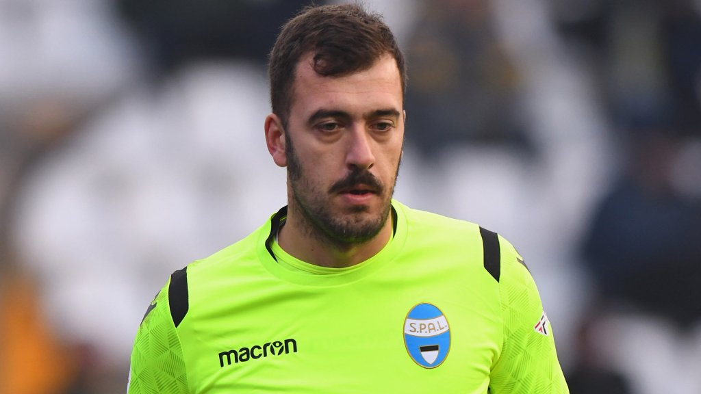 Emiliano Viviano Playing With Spal, Source- FedeNerazzurra