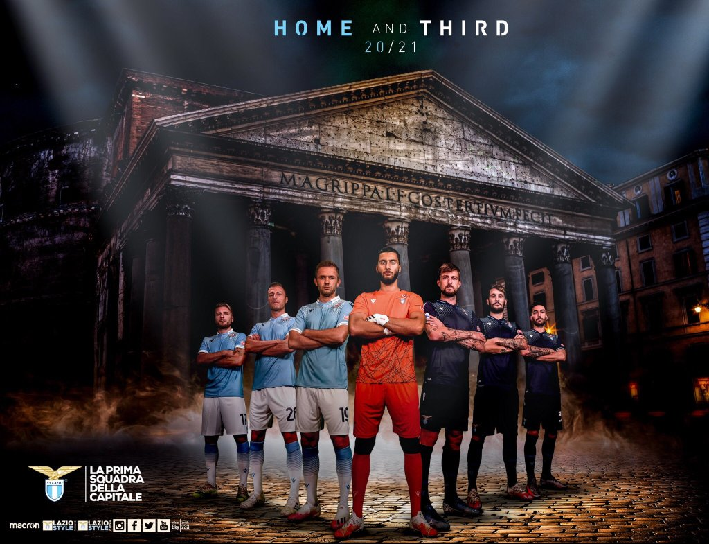 2020/21 S.S. Lazio Home & Third Kits