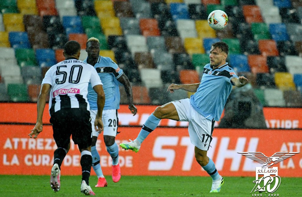 Ciro Immobile, Felipe Caicedo, and Rodrigo Becao During Udinese vs Lazio, Source- Official S.S. Lazio