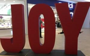 big word JOY