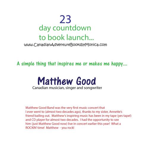 23 day countdown matthew good