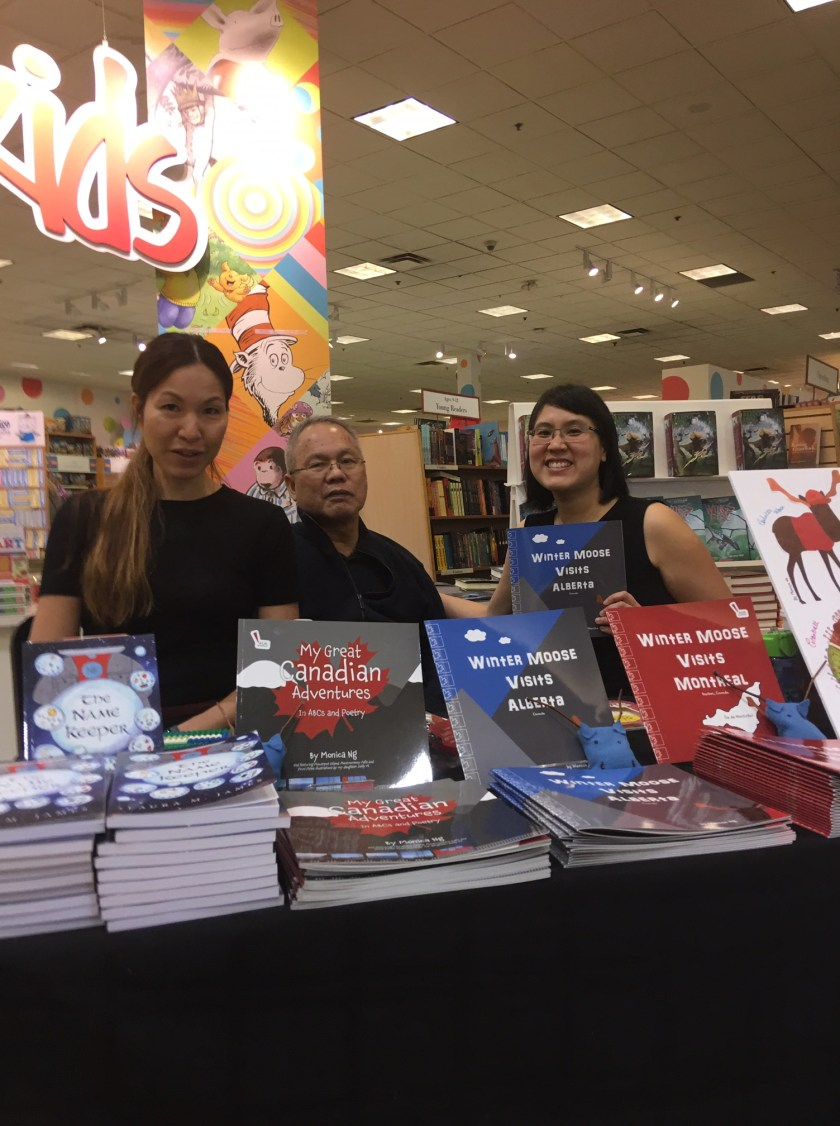 photos from chapters markham book event
