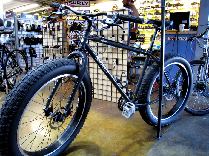 Surly Pugsley - fat tire maddness.