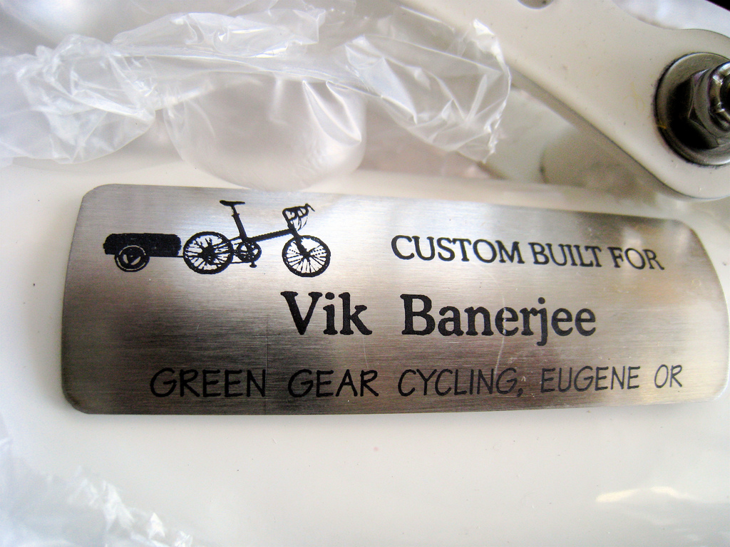 I love the personalized name plate!