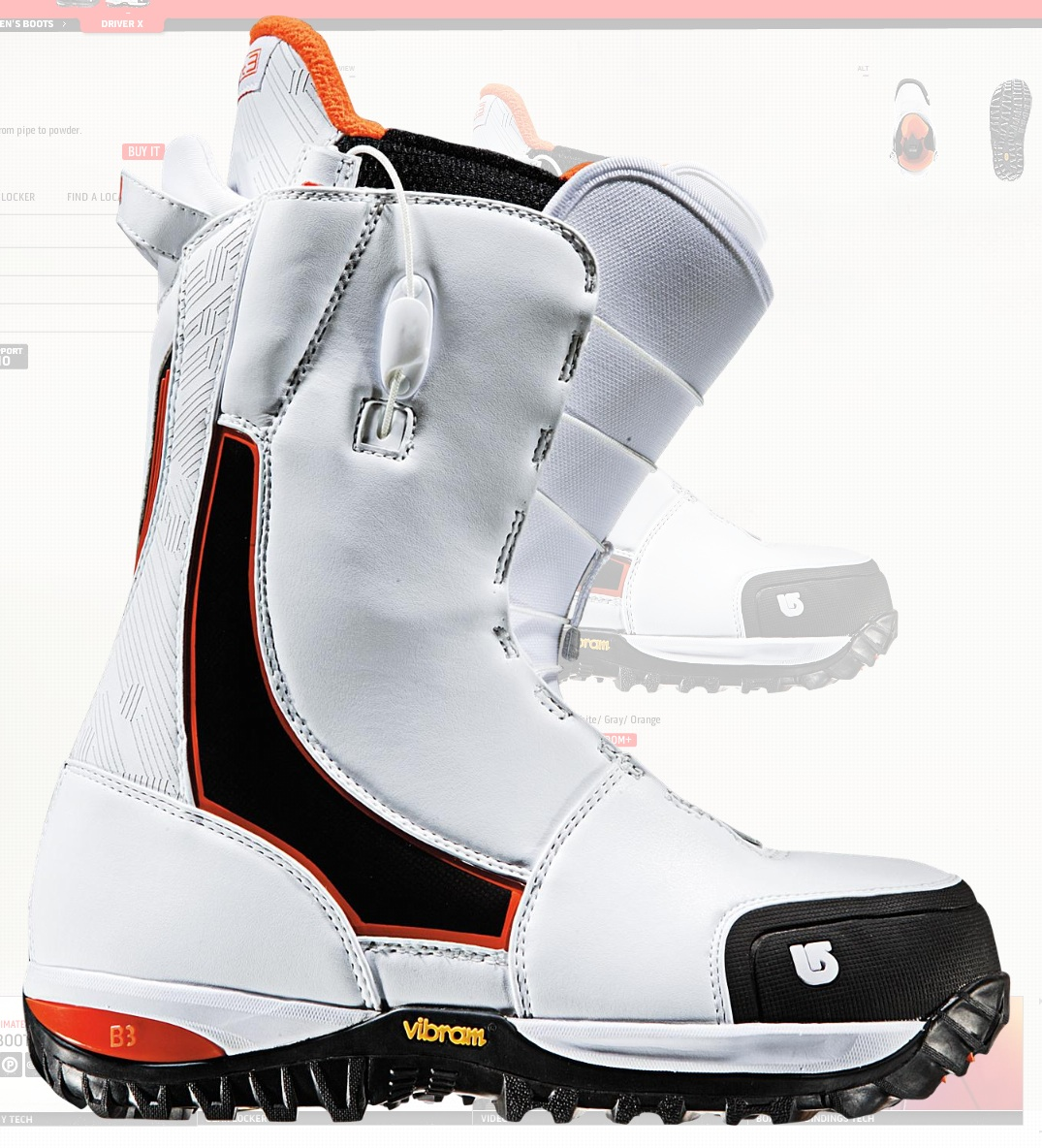 Burton Driver X boots