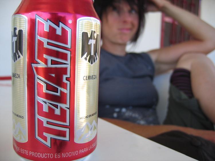Beer a bikers best friend...