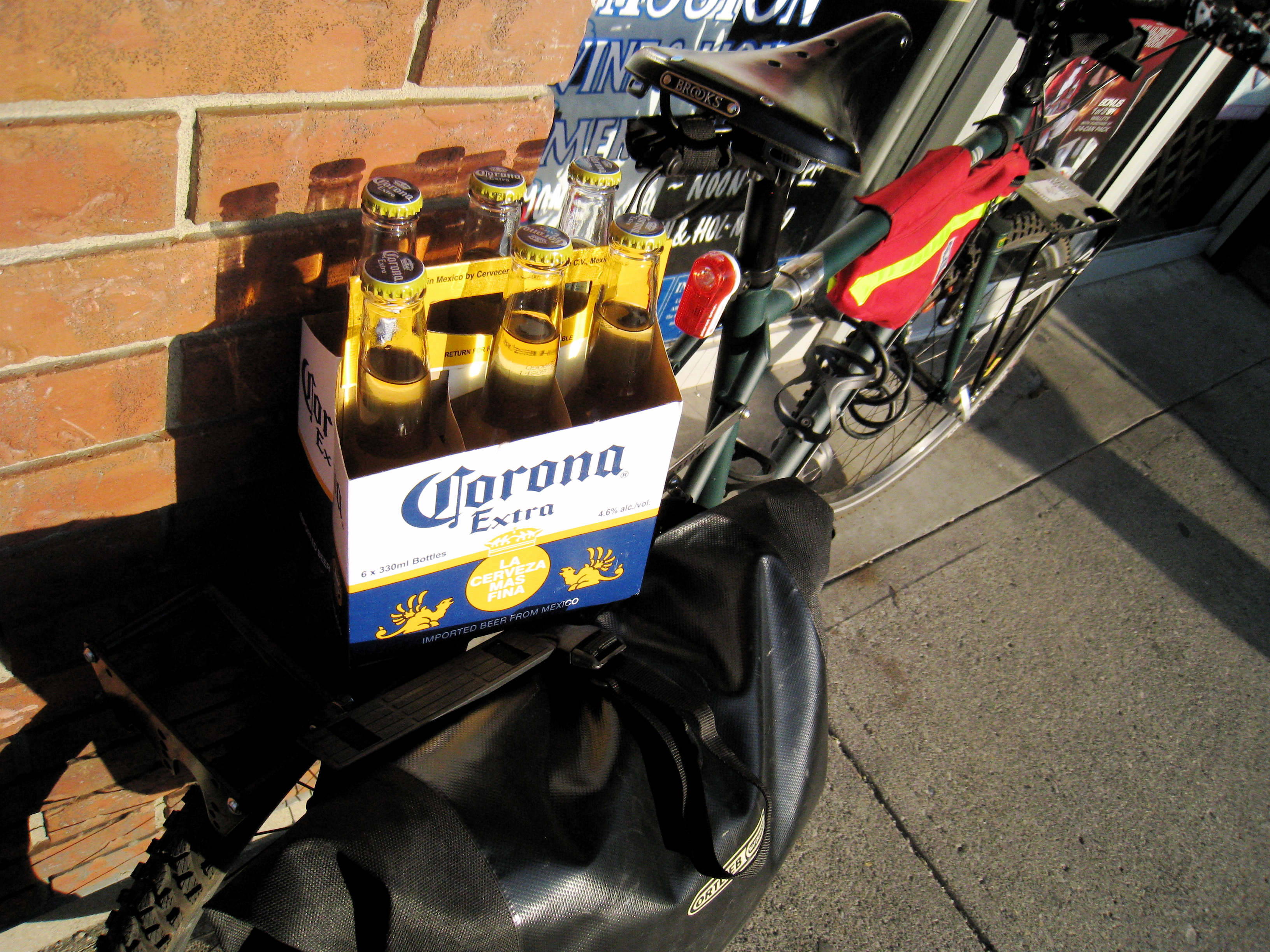 My kind of fully loaded bike touring...