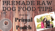 Premade Raw Dog Food: Tips from The Primal Pooch