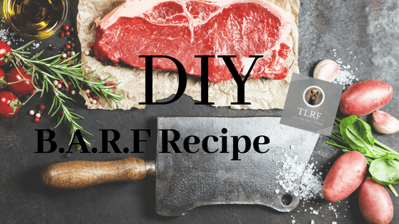 DIY B.A.R.F Dog Food Recipe by TLRF