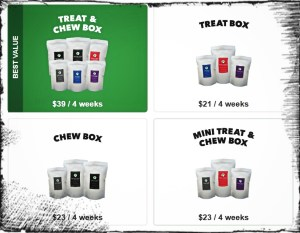 Real Dog Box Options
