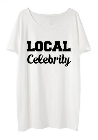 local celebrity Tee