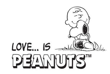 Peanuts Love Is Personalised Artwork