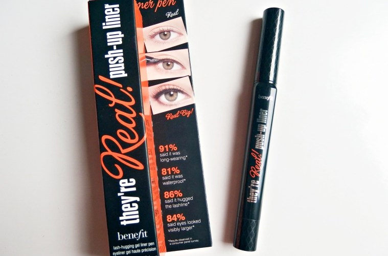Benefit They're Real Gel Liner Review