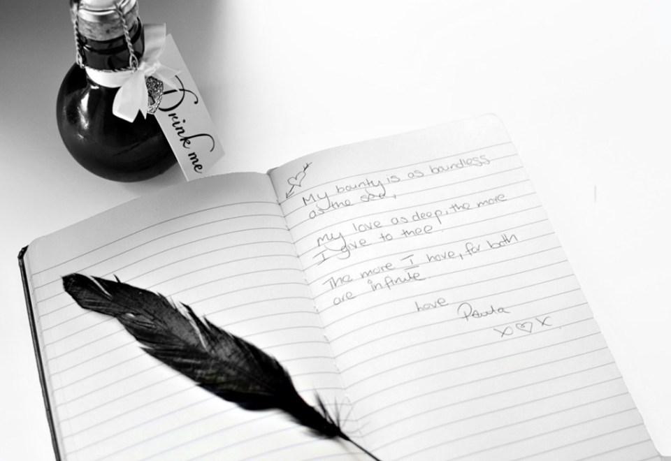 Love letter by Smythson