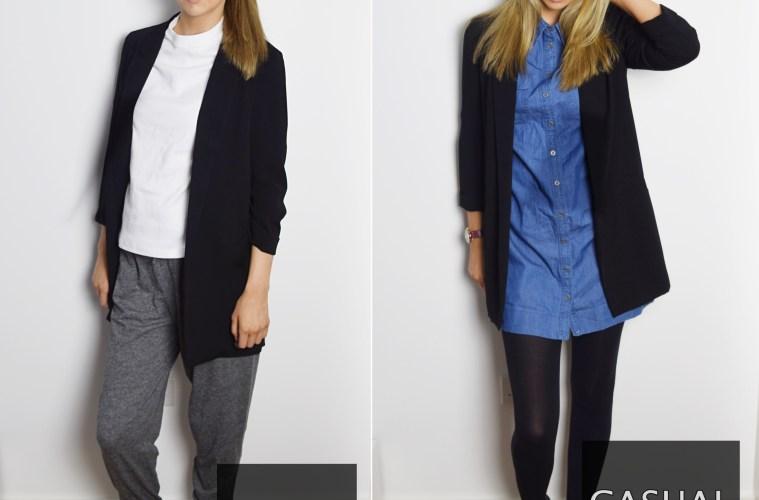 6 ways to wear a blazk blazer