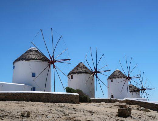 Windmills Mykonos - Why You Should Visit Mykonos - Uk Travel Blogger