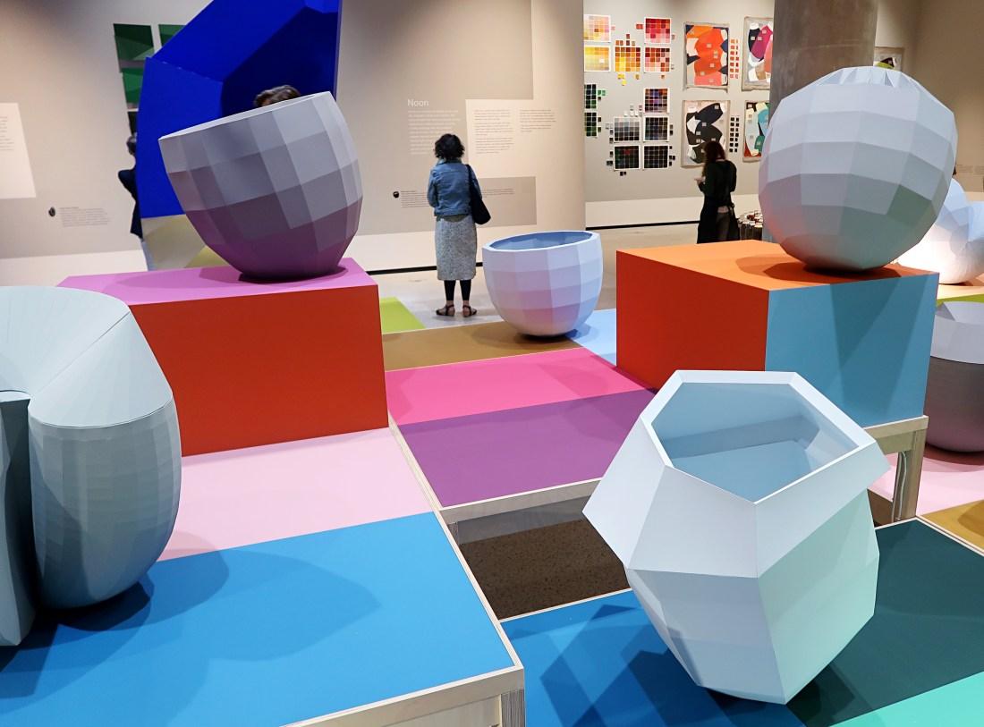 Breathing Colour Design Museum Kensington London