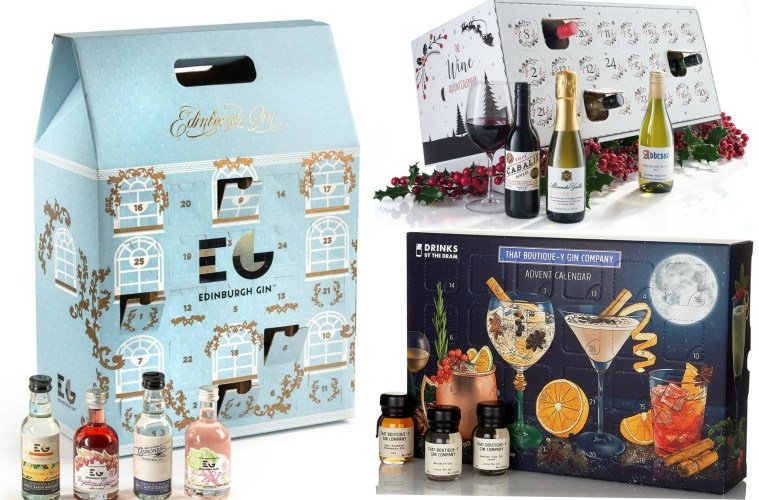 alcohol advent calendar 2017 best gin beer wine. Black Bedroom Furniture Sets. Home Design Ideas