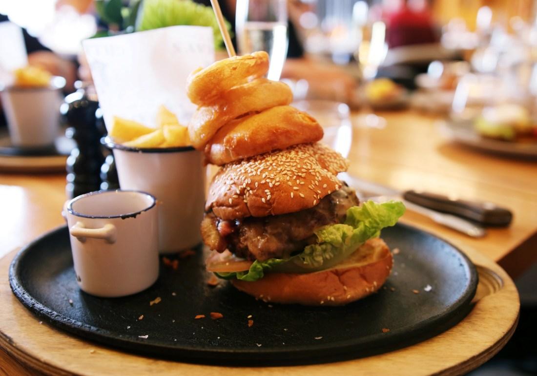 Burger at Gillrays Steakhouse London