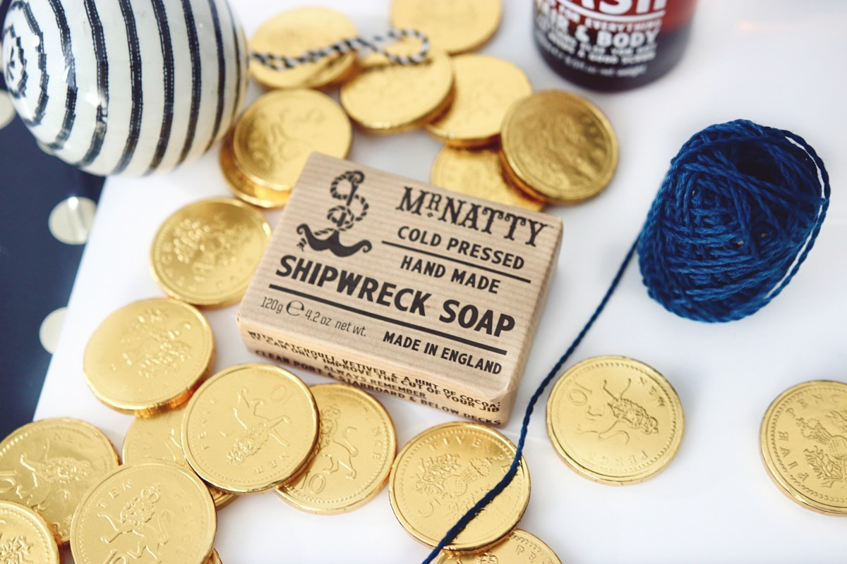 Mr Natty Shipwrecked Soap - Christmas Gift Ideas For Him