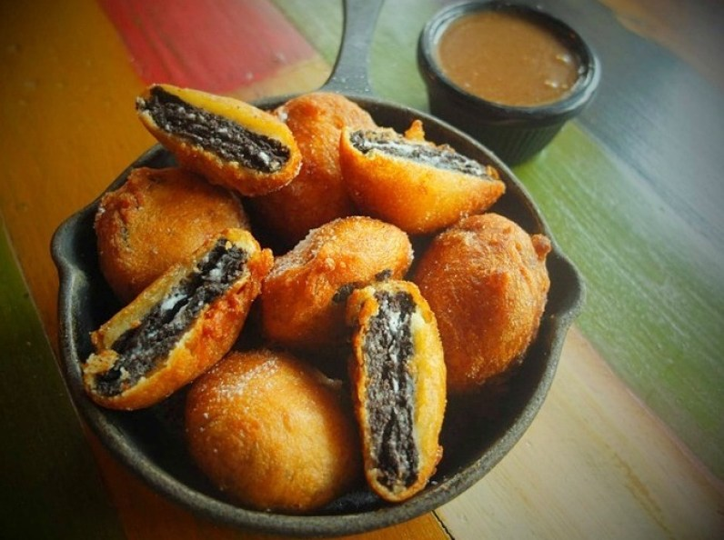 Blues Kitchen Shoreditch Fried Oreos - Best desserts in London - The LDN Diaries