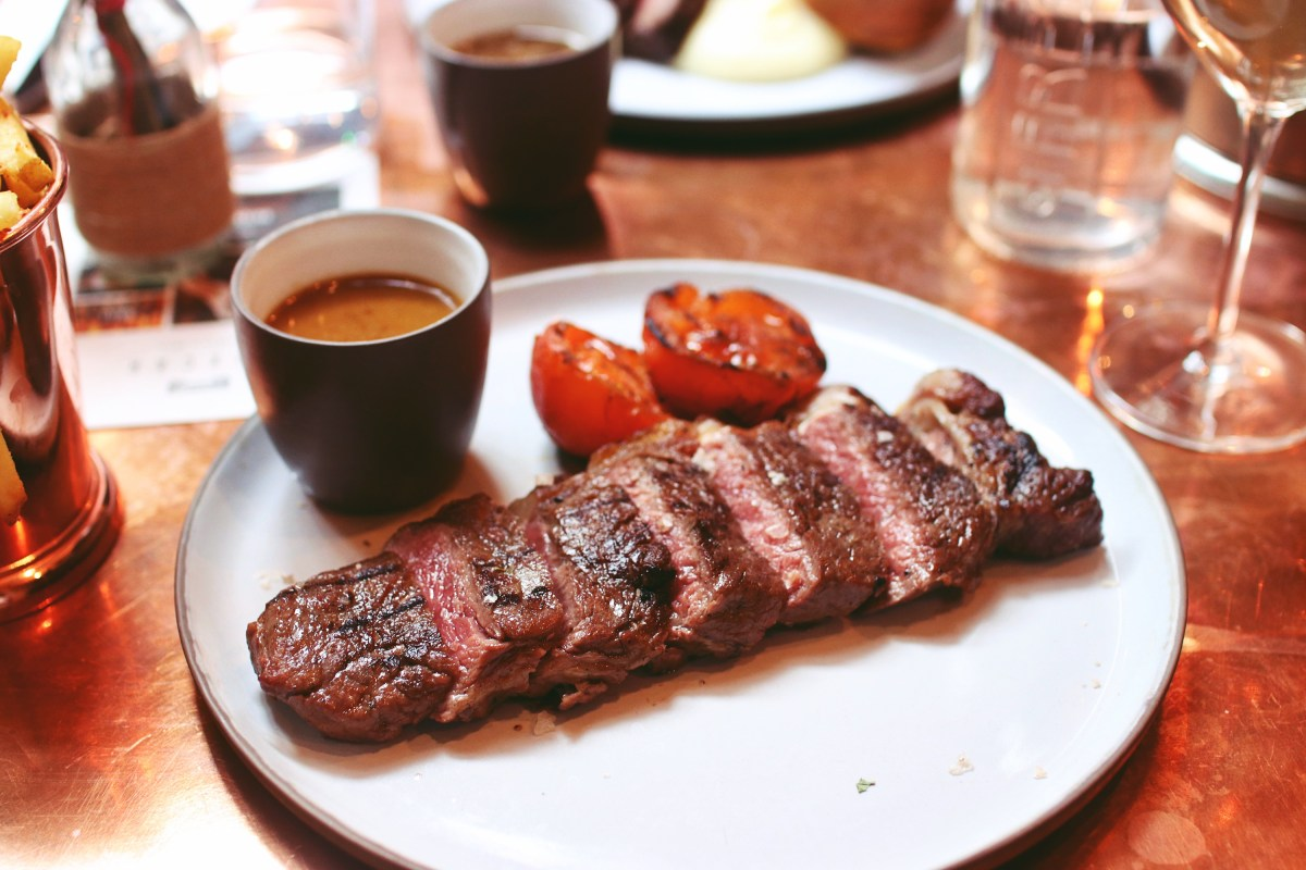 Sirloin Steak Boxcar Boxcar Butcher & Grill Marylebone Review