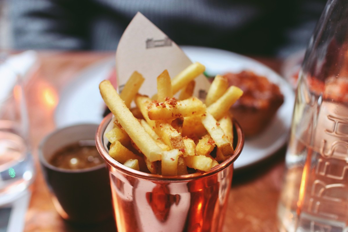Fries With Bacon Salt Boxcar Boxcar Butcher & Grill Marylebone Review
