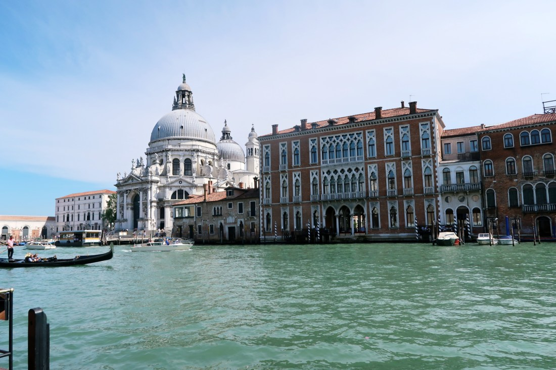 The Gritti Palace View From Terrace