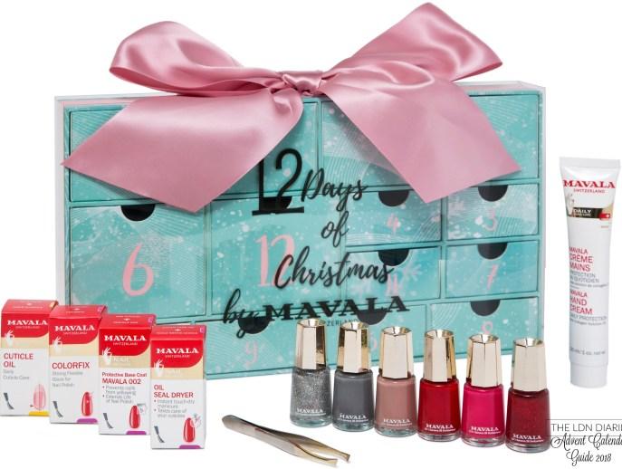 Mavala Beauty Advent Calendar 2018 - The LDN Diaries