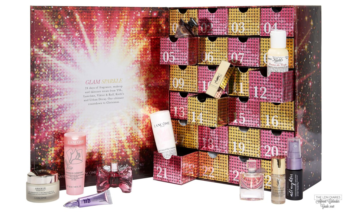 Loreal luxe advent calendar 2018 - The LDN Diaries