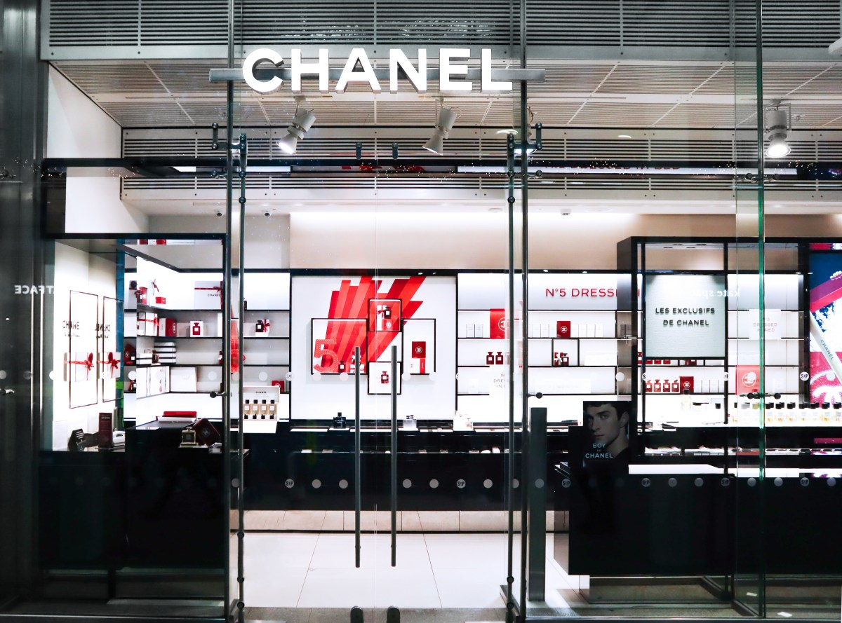Chanel Beauty St Pancras International - The LDN Diaries