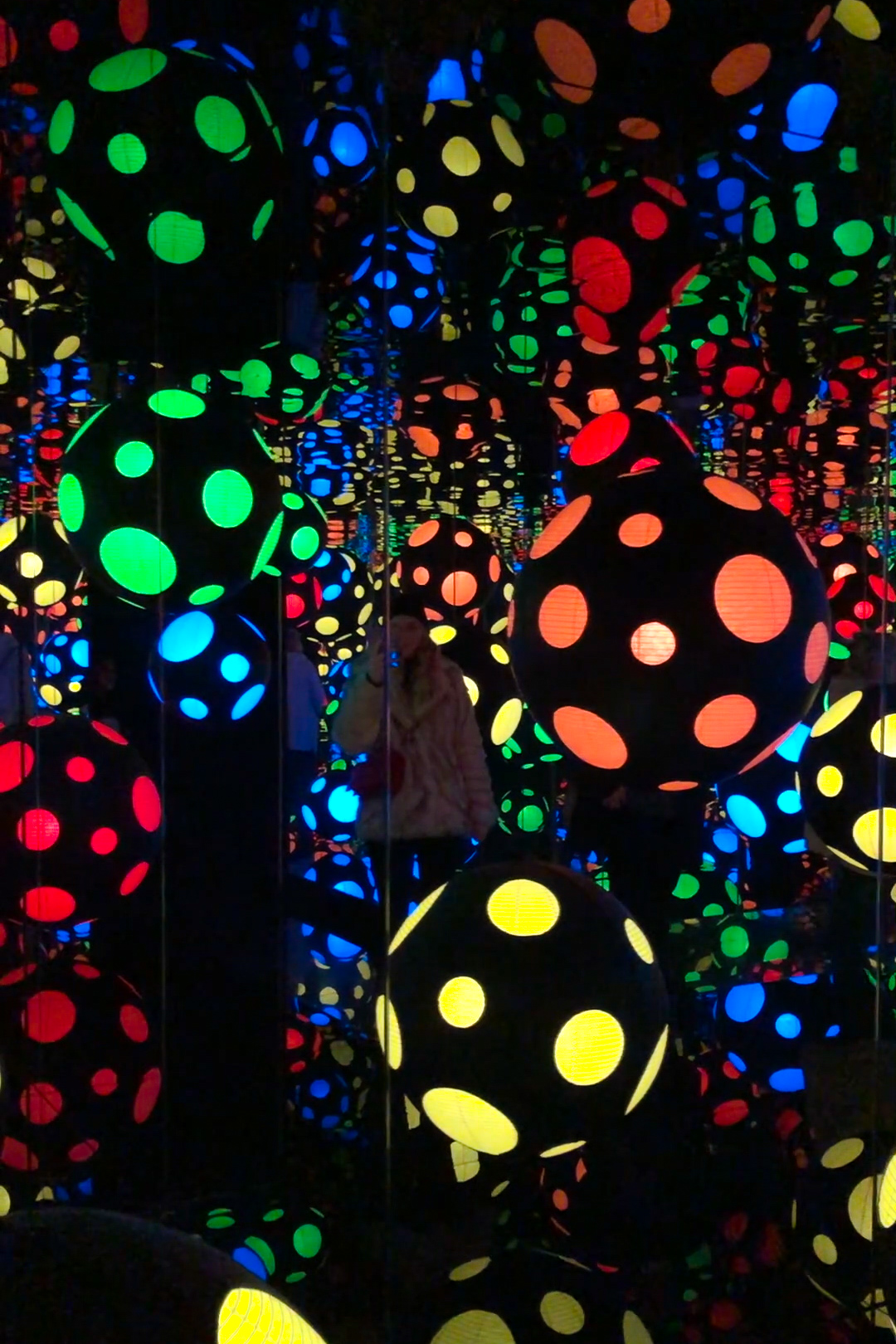 Yayoi Kusama Infinity Room London - The LDN Diaries London Lifestyle Blog