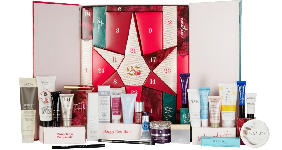 M&S Beauty Advent Calendar2019 - The LDN Diaries