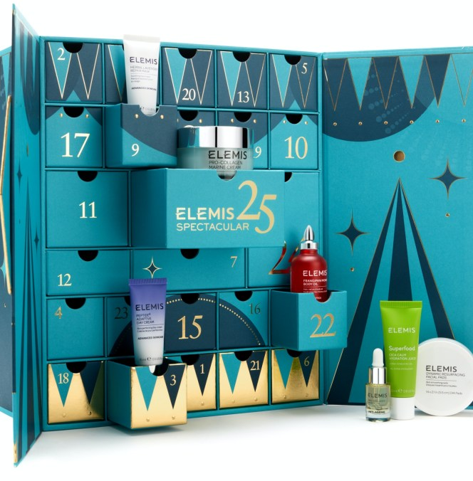 ELEMIS beauty advent calendar 2020