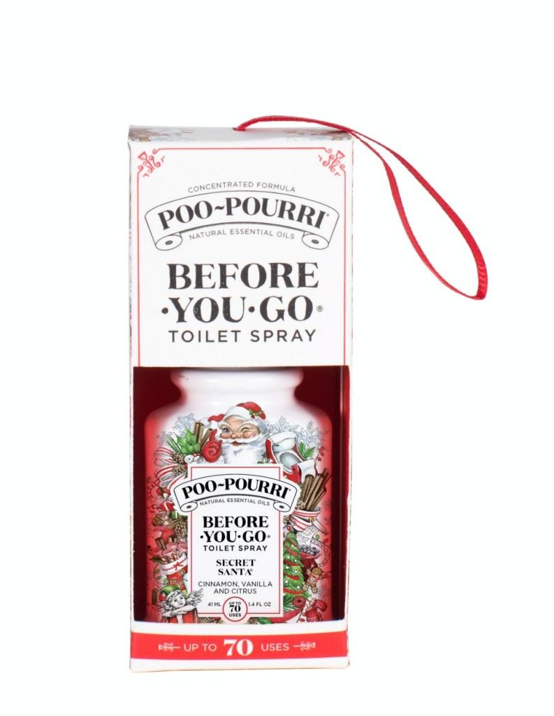Poo-Pourri Secret Santa Ornament