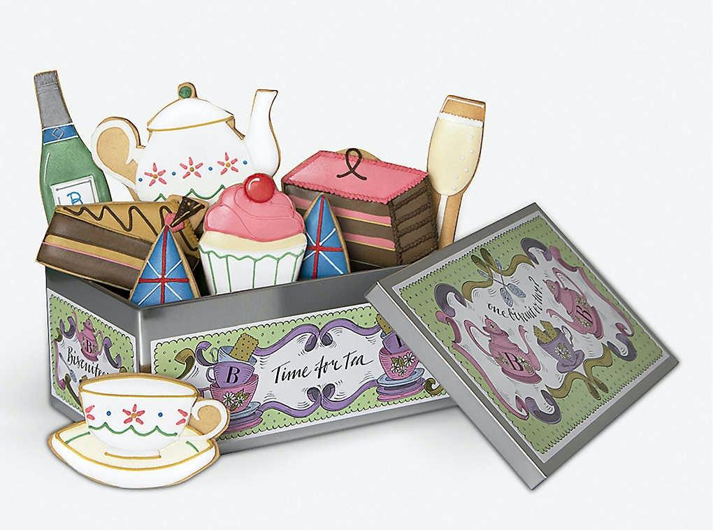 Biscuiteers Afternoon Tea Box