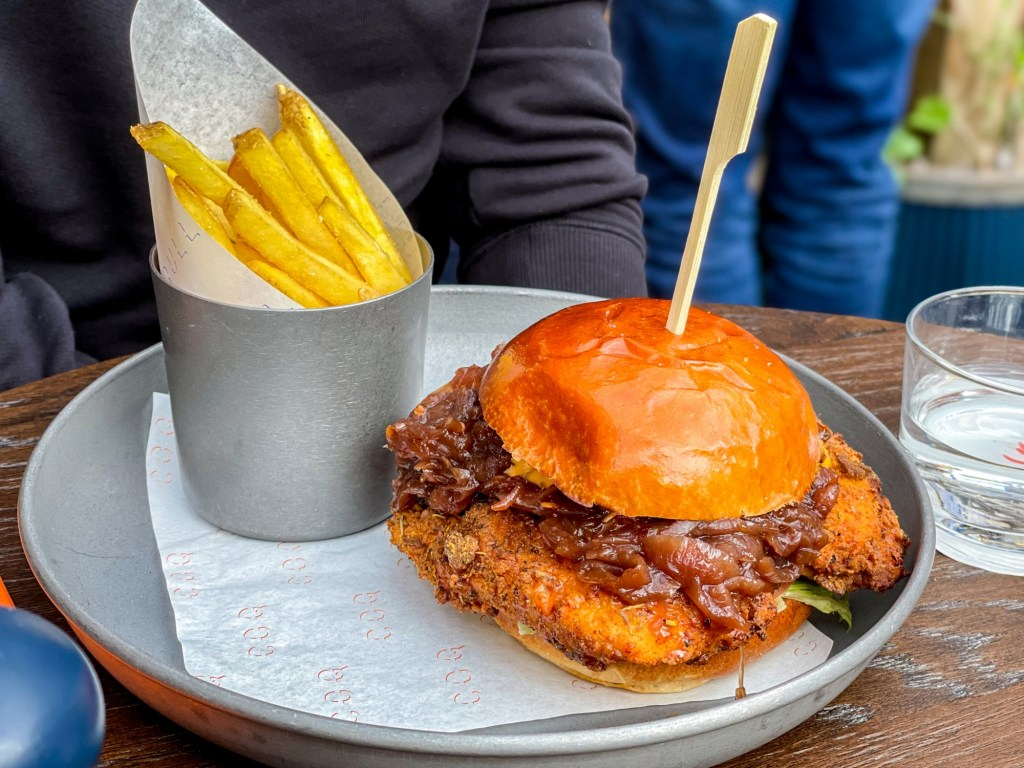 Southern Fried Coq at Coqbull Soho