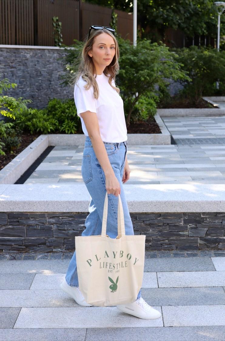Playboy Tote Bag | London Fashion Blogger
