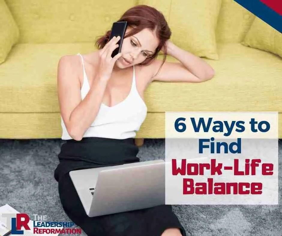 Work-Life Balance Wellness Leadership Image