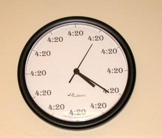 4:20 clock 420
