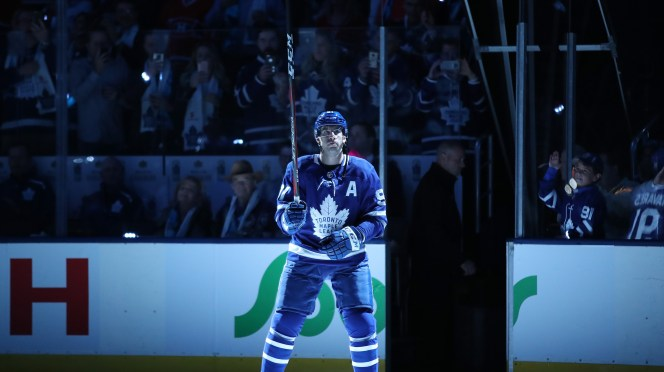 Throwback Thursday This Week In 2018 John Tavares Scores First Hat Trick With Toronto Maple Leafs
