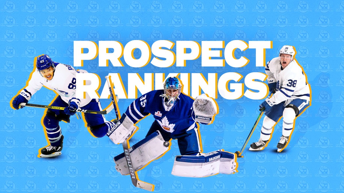 The Leafs Prospect Rankings so far