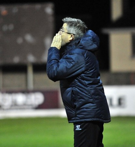 Drogheda United Assistant Manager John Gill