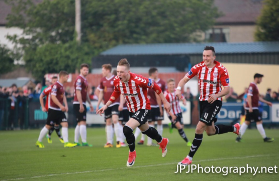 Ronan Curtis Derry City
