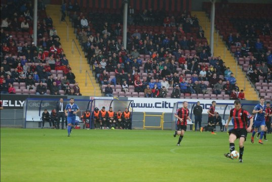 Longford Town v Waterford at City Calling Stadium