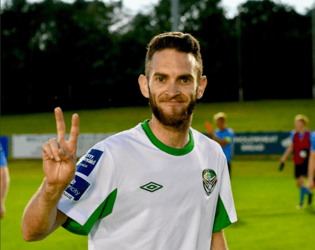 Kieran Marty Waters Cabinteely FC