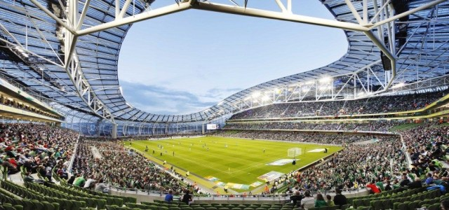 A packed Aviva Stadium in Dublin