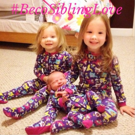 #BecoSiblingLove matching pajamas copy